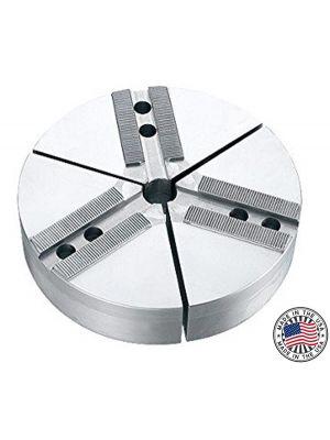 Round Jaws, Aluminum 1.5MM X 60° Serrations, 8
