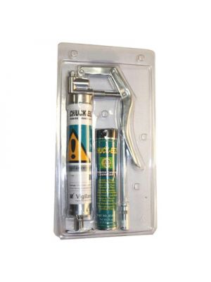 CHUCK-EEZ 4 Oz Cartridge With Grease Gun